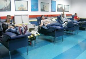 radionice ponedjelkom- 27.10.2011. dobrovoljno darivanje krvi